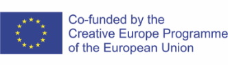 Co-funded by the Creative Europe Programme of European Union